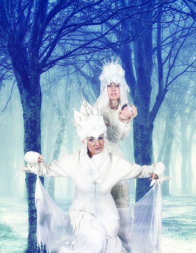 Unverfrorene Winterköniginnen