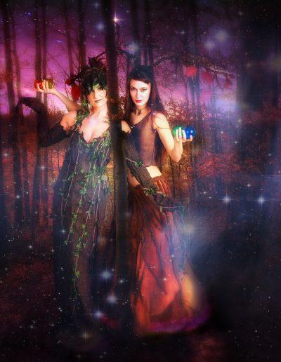 Mythologische Baumgeister